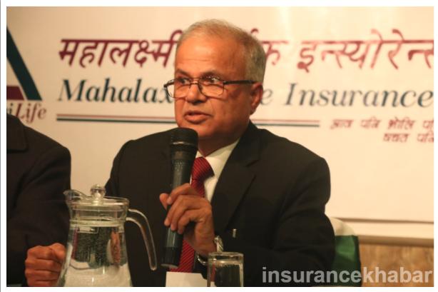नयाँ कम्पनी बजारमा आउँदैमा पूरानो कम्पनीको भाग खोसिने हैन : रमेश कुमार भट्टराई, सिईओ, महालक्ष्मी लाईफ इन्स्योरेन्स