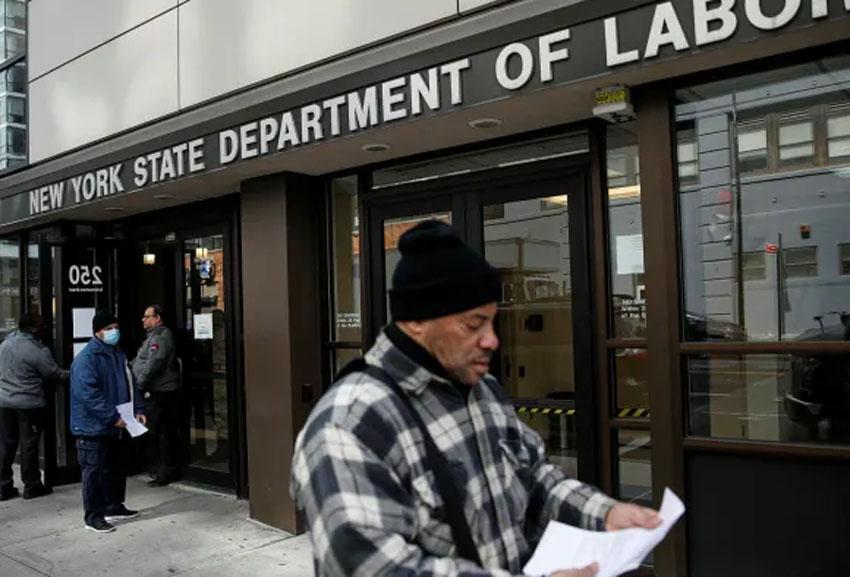 अमेरिकामा रोजगारीको अवस्थामा भयावह, दुई हप्तामा ६६ लाख ४८ हजार बेरोजगार