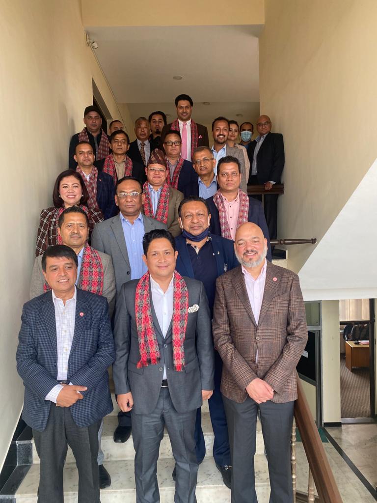 उद्योग बाणिज्य महासंघको द्धिराष्ट्रिय एवं गैर आवासिय नेपाली समन्वय फोरम विस्तार, विदेशी लगानी भित्र्याउन ९ बुदे कार्यपत्र