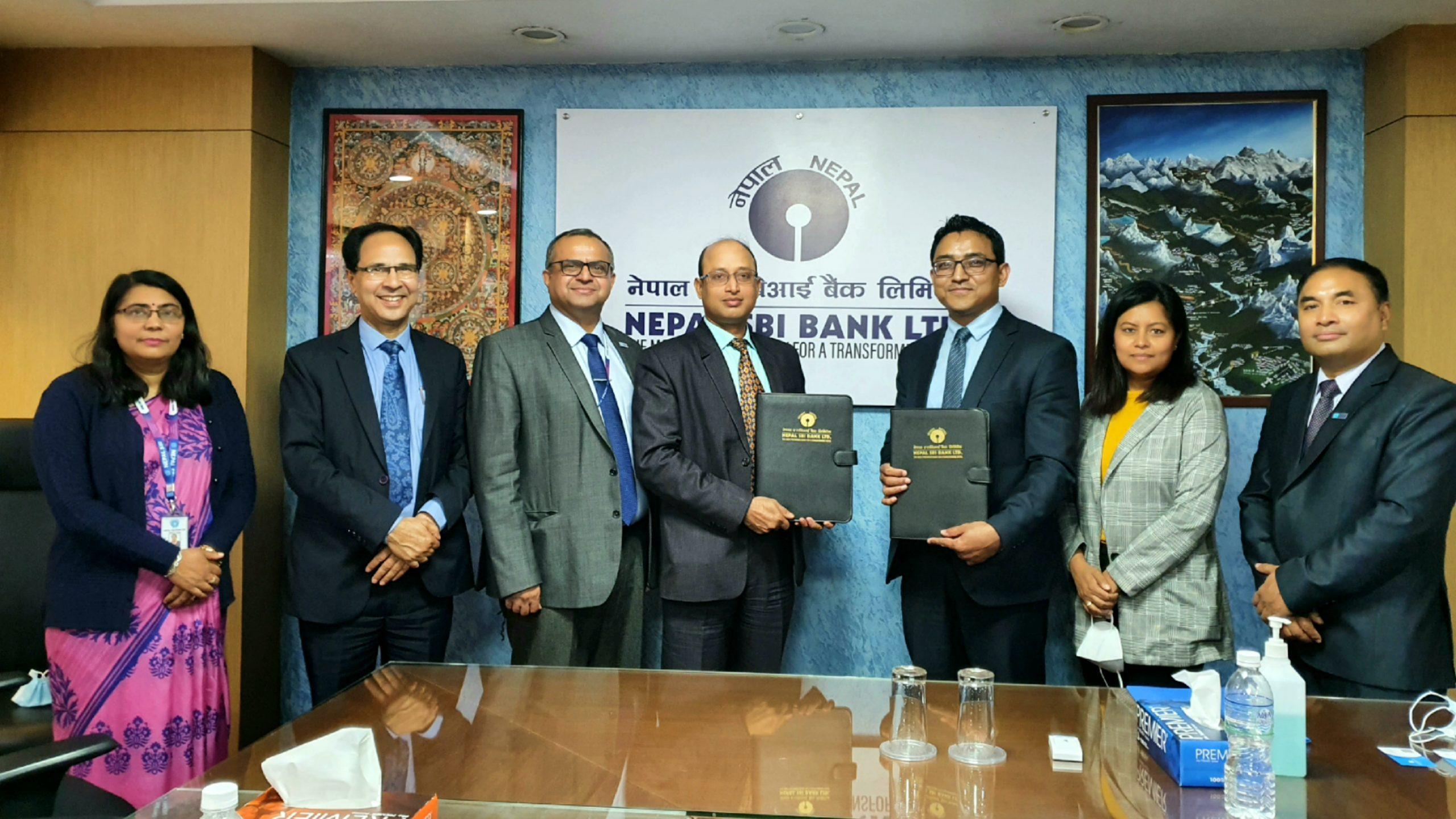नेपाल एसबिआई बैंकले शुरु गर्यो कर्पोरेट पे सेवा